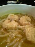 小えび天ぷらカレーうどん