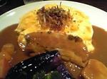 伍郎蔵オムカレー&野菜